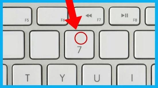Đọ tài nhớ vị trí ký hiệu, chữ số trên bàn phím - 1