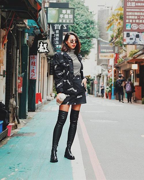 Đồ cool ngầu lên ngôi trong street style sao Việt tuần qua - 7