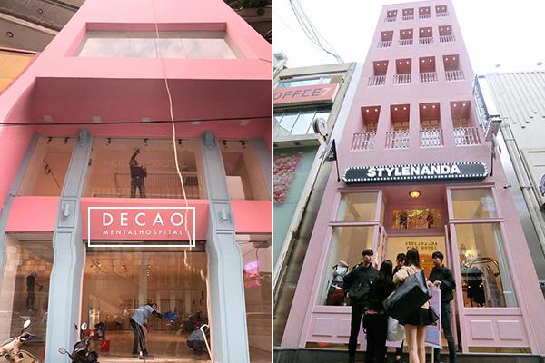 Concept cửa hàng thời trang của Decao bị đánh giá là phản cảm, đồng thời có sự bắt chước từ concept của thương hiệu nổi tiếng Style Nanda.