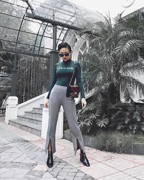Đồ cool ngầu lên ngôi trong street style sao Việt tuần qua - 8