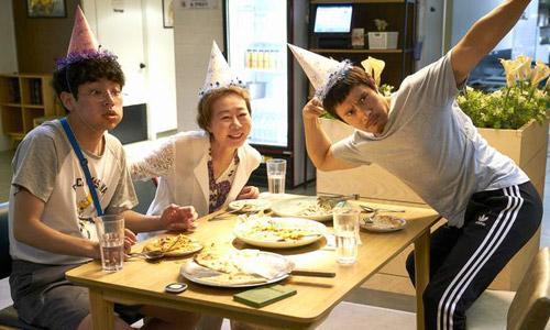 Hình ảnh hài hước hiếm có của Lee Byung Hun trong phim.