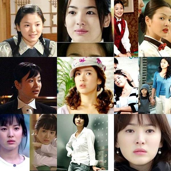 Những vai diễn của Song Hye Kyo trên màn ảnh nhỏ.