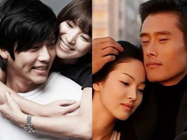 Song Hye Kyo từng có mối tình đình đám với Lee Byung Hun và Hyun Bin.