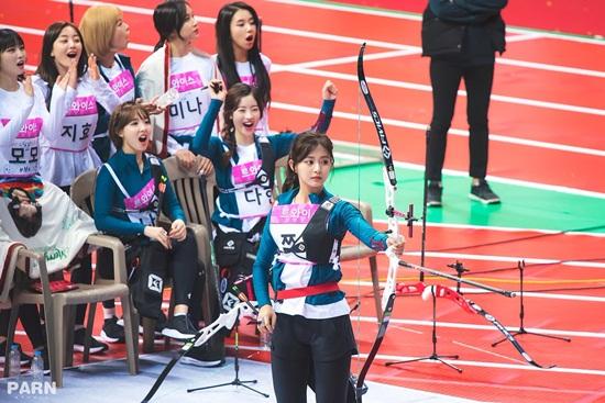 Irene, Tzuyu, Na Yeon cạnh tranh cho ngôi vị Nữ thần bắn cung - 1