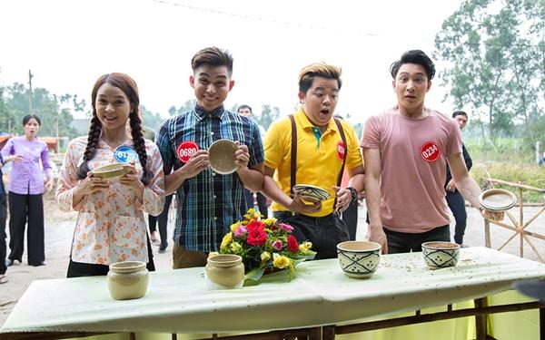 B Trần làm tình địch của Lương Thế Thành trong phim Tết - 1