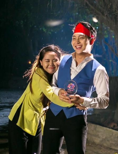 B Trần làm tình địch của Lương Thế Thành trong phim Tết - 2