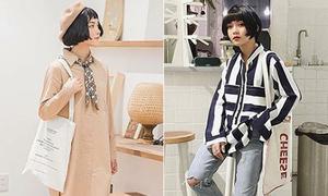 Chán túi sang chảnh, con gái Việt giờ chỉ thích túi vải bình dân đậm chất Hàn