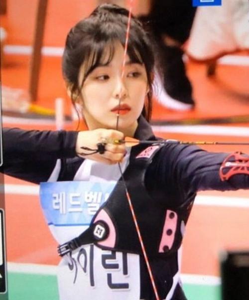Irene, Tzuyu, Na Yeon cạnh tranh cho ngôi vị Nữ thần bắn cung - 5