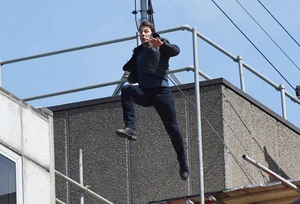 Tom Cruise nổi tiếng là diễn viên luôn muốn tự mình đóng cảnh mạo hiểm.