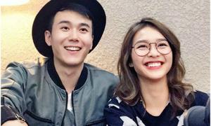 Khả Ngân bị đồn hẹn hò với tài tử Hong Kong điển trai