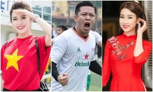 Sao Việt muốn 'đập điện thoại', vỡ oà trước trận thắng lịch sử của U23 Việt Nam