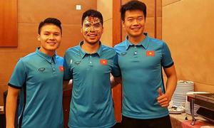 Các chàng trai U23 Việt Nam làm gì ngay sau chiến thắng?