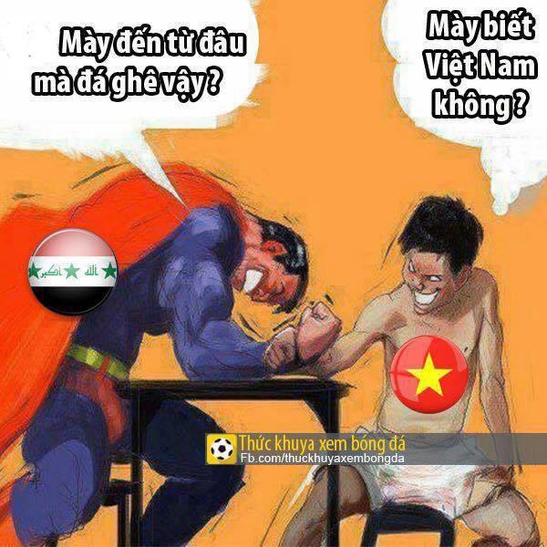 Superman chẳng là gì khi so sánh với các tuyển thủ bóng đá Việt Nam.