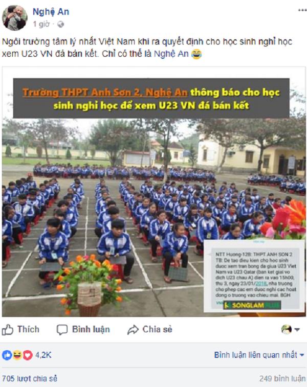Fan bóng đá chờ U23 Việt Nam trong trận bán kết theo cách bá đạo - 3