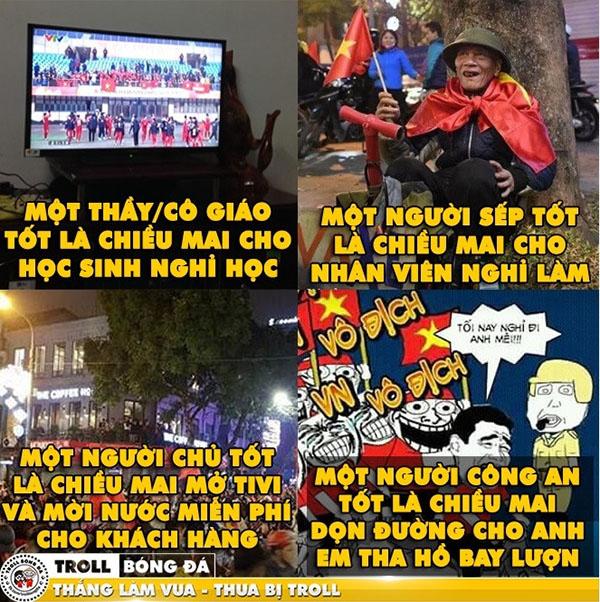 Ảnh chế: Fan bóng đá mơ U23 Việt Nam lặp lại lịch sử sân cỏ - 7