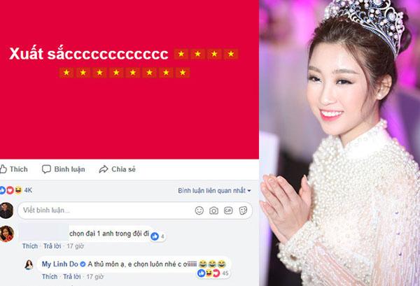 Dàn mỹ nhân Việt cũng phát cuồng với Tiến Dũng thủ môn - 5