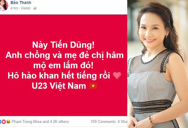 Dàn mỹ nhân Việt cũng phát cuồng với Tiến Dũng thủ môn - 7