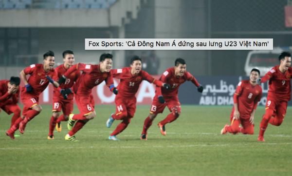 Đội tuyển U23 Việt Nam sẵn sàng trước trận bán kết.