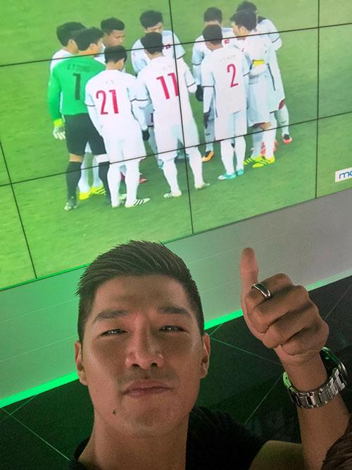 HHen Niê, Bảo Anh nhảy cẫng như bắt được vàng khi U23 Việt Nam chiến thắng - 3