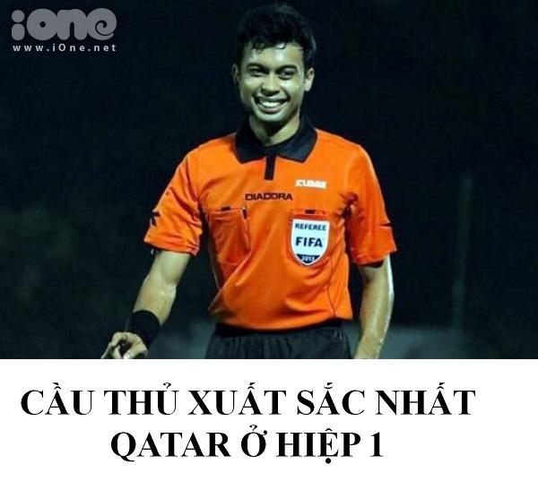 Đã tìm ra cầu thủ số 13 của U23 Qatar.