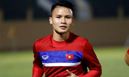 Tiền vệ được mệnh danh thần tài của đội tuyển Việt Nam.