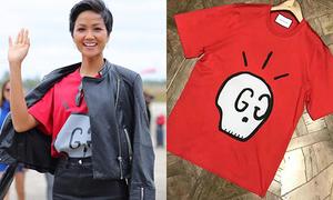 H'Hen Niê lên đời diện áo phông hơn chục triệu đồng