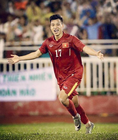 Hot boy U23 Việt Nam gây sốt với cách ăn mừng bàn thắng cool ngầu hết cỡ - 2