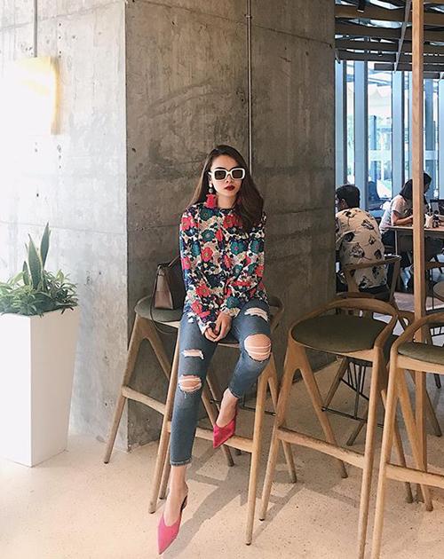Street style người nữ tính, người phá cách của sao Việt tuần qua - 3
