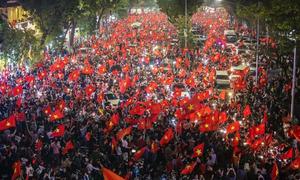 Khoảnh khắc khó quên trong trận bóng gây 'rúng động' châu Á của U23 Việt Nam