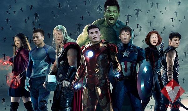 Biệt đội siêu anh hùng phiên bản U23 Việt Nam.
