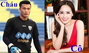 Cách xưng hô khác biệt của mỹ nhân Việt với thủ môn Bùi Tiến Dũng
