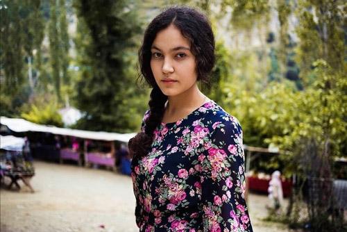 Vẻđẹp của một người phụ nữ Uzbek