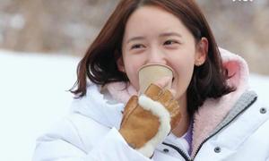 Yoon Ah để mặt mộc, lọt vào top tìm kiếm ở Hàn