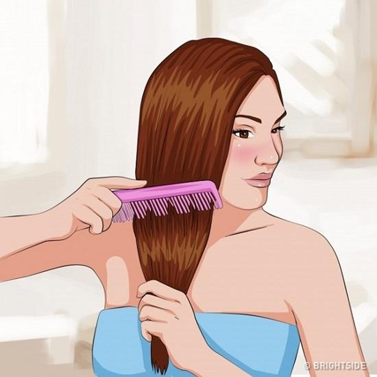 Bí kíp tóc suôn thẳng tự nhiên không cần tới salon - 2