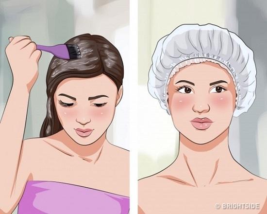 Bí kíp tóc suôn thẳng tự nhiên không cần tới salon - 6