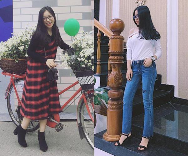 Phong cách khác biệt của bạn gái 3 hot boy U23 Việt Nam - 4
