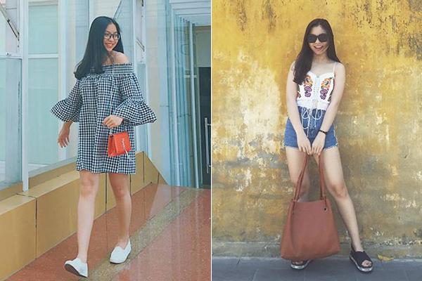 Phong cách khác biệt của bạn gái 3 hot boy U23 Việt Nam - 5