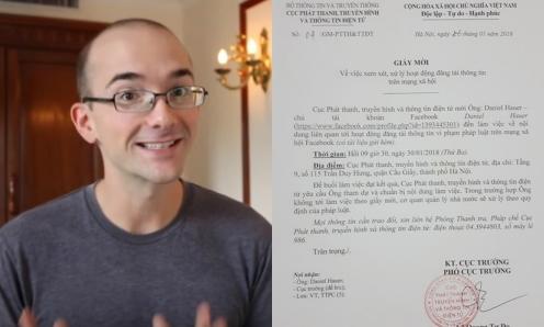 Thầy Dan Hauer bị mời làm việc sau phát ngôn gây tranh luận.
