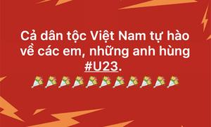 Triệu trái tim hướng về U23 Việt Nam dù thua cuộc