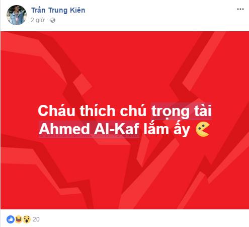 Ảnh chế Ahmed Alkaf - Vị trọng tài đẹp trai nhất mùa giải U23 Châu Á trong mắt người Việt - 17