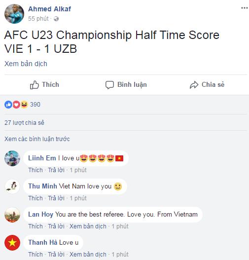 Ảnh chế Ahmed Alkaf - Vị trọng tài đẹp trai nhất mùa giải U23 Châu Á trong mắt người Việt - 18