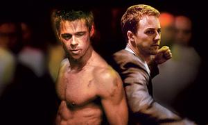 Đỉnh cao của bạo lực được thể hiện trong 'Fight Club'