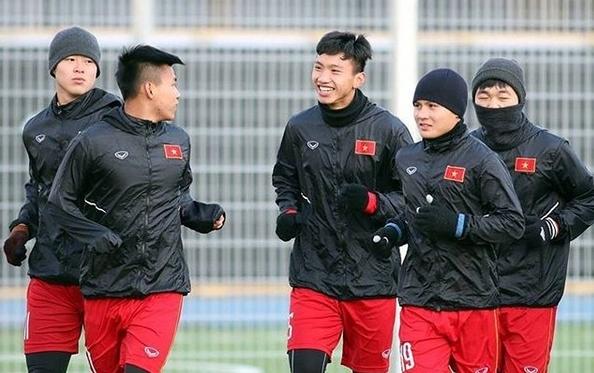 Nụ cười dễ thương của em út U23 Việt Nam Đoàn Văn Hậu - 1