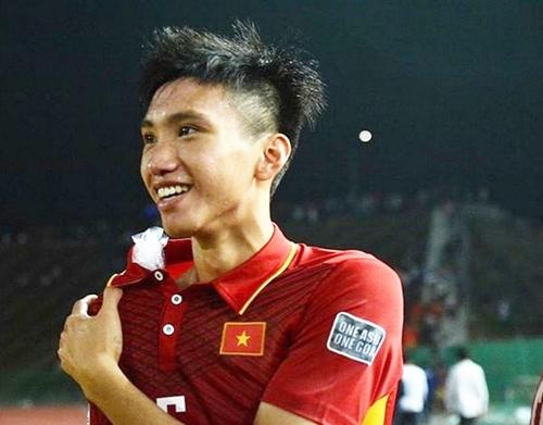 Nụ cười dễ thương của em út U23 Việt Nam Đoàn Văn Hậu - 5