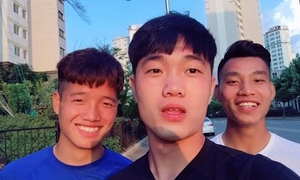 Xuân Trường - Văn Thanh hát 'Làm vợ anh nhé' hạ gục các fan nữ