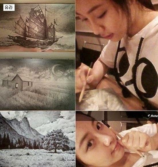 10 idol Kpop có tài hội họa khiến fan trầm trồ - 5