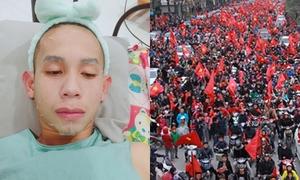 Hồng Duy bị fan nữ gào: 'Bán son cho chị, bán luôn em cũng được'