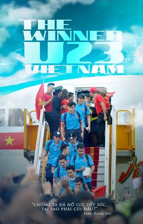 Nhìn hình ảnh mà cứ ngỡ boygroup U23 Việt Nam đi lưu diễn nước ngoài bị fanbao vây ở sân bay.