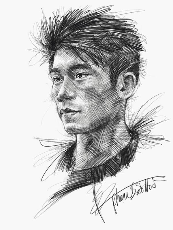 HLV Park và dàn cầu thủ U23 qua nét vẽ sống động - page 2 - 5