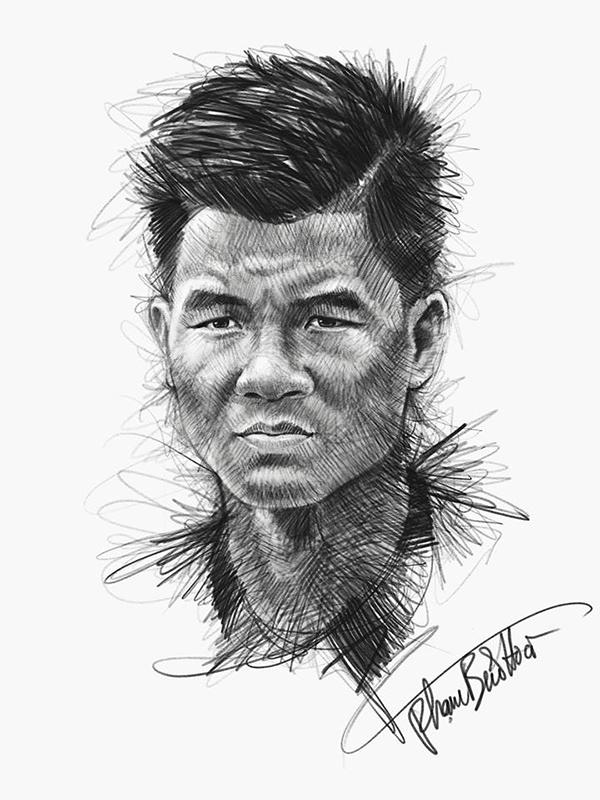 HLV Park và dàn cầu thủ U23 qua nét vẽ sống động - page 2